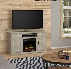 rustic tv stand smart 4k console to 55