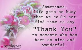 quotes about saying thank you quotes