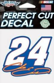 Chase Elliott 24 Decal 4x4 Perfect Cut Car Tumbler Laptop See Description Ebay