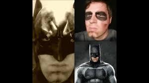 diy batman cosplay makeup tutorial