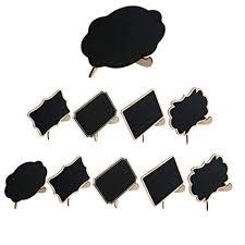 uxcell 10pcs diy mini wood black