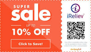 15 off ireliev coupon promo code
