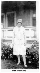 Effie Johnston Bigler (1885-1955) - Find A Grave Memorial