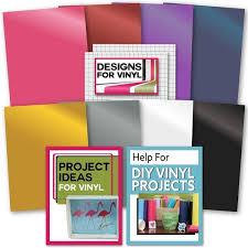 Shop Cricut Premium Vinyl Value Pack Bulk Pen Set Decal Vinyl Weeder Tool Eguide Overstock 30386503