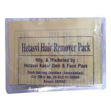 ayurvedic hair remover pack hetasvi