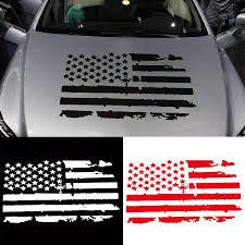 Universal Car Sticker Waterproof Creative Usa Flag Model Hood Vinyl Decal Sticker Fashion Decor Car Styling Car Stickers Car Stickers Aliexpress