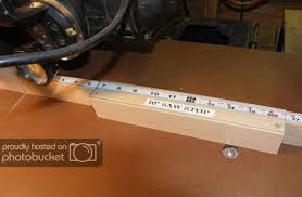 Tips And Jigs For The Shop 2 Fence Ruler With Stop Block And Position Indicator By Jim Bertelson Lumberjocks Com Woodw Jigs Radial Arm Saw Woodworking