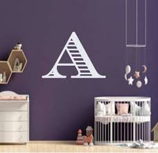 Wall Decal Nursery Nursery Wall Decal Name Decal Etsy