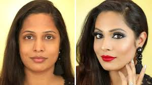 how to do party makeup at home step