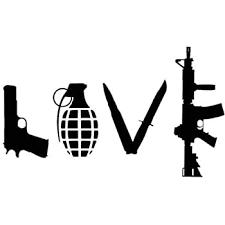 Amazon Com Love With Guns Car Decal Sticker Grenade Hand Gun Window Vinyl Sticker Truck Die Cut Vinyl Decal For Windows Cars Trucks Tool Boxes Laptops Macbook Virtually Any Hard Smooth