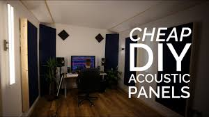 acoustic panels on the
