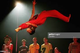 Quang Hien Vo makes a flip during the Move Artistic unofficial World...  News Photo - Getty Images