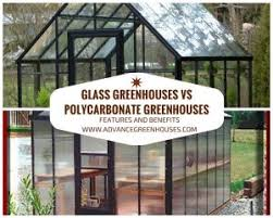 polycarbonate vs glass greenhouses