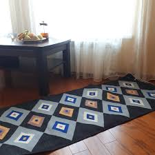 gray rug modern wool kilim rug