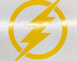 Flash Logo Sticker Etsy