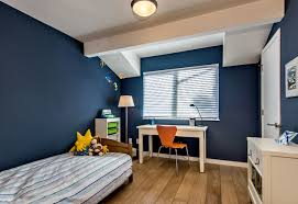 Navy Blue Boy Bedroom With Shed Dormer Midcentury Kids San Francisco By Bill Fry Construction Wm H Fry Const Co Houzz Uk
