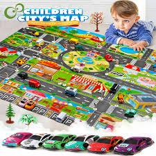 car park mat play kids rug