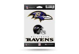 Nfl Football Baltimore Ravens Window Decal Sticker Set Officially Licensed Custom Sticker Shop