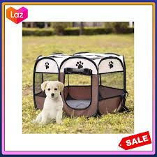 Pet Fence Portable Cat And Dog Cage Pet Octagonal Dog Fence Portable Folding Pet Tent Dog House Cage Dog Cat Tent Playpen Puppy Kennel Sofa Supplies Lazada Ph
