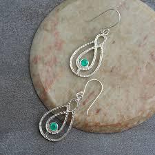 real indian silver earrings by pankaj