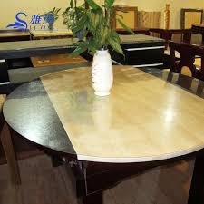 table cloth round table pvc transpa