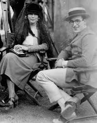 """whataboutbobbed: """" Colleen Moore, Sam Taylor, Adela Rogers St Johns, Harold  Lloyd with Walter Lundin at the camera o… 