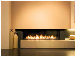 wall contemporary gas fireplace designs