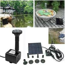 1 pc solar water pump submersible water