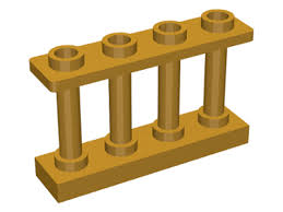Brick Shop Lego 6060803 Fence 1x4x2 Pearl Gold 15332 White Picket Part Brick Shop Pick A Brick