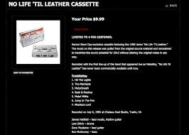 life til leather demo tape