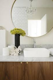 oversized bathroom mirror interior