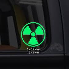 Radioactive Glow In The Dark Decal Sticker Macbooks Etsy