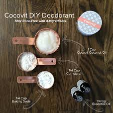 how to make your own coit deodorant
