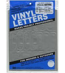 Adhesive Vinyl Letters Numbers