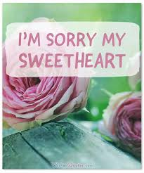 i m sorry messages for girlfriend sweet apology quotes for her