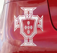 Portuguese Football Federation Motorcycle Decal Tenstickers