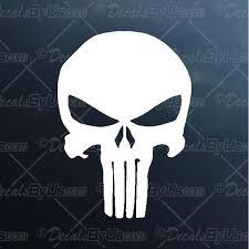 Punisher Skull Decal Punisher Skull Car Sticker New Designs