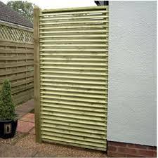 Venetian Fence Panel 0 9m Wooden Supplies