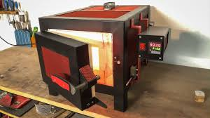 diy heat treating oven build video
