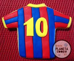 Galletas Cules Futbol Club Barcelona Planeta Cookie