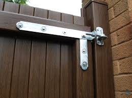 Fensys Upvc Plastic Gate System Heavy Duty Braced Galvanised Hinge With Stainless Steel Fixings Barn Door Hinges Gate Hinges Door Gate Design