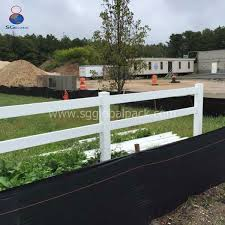 China Black Pp Woven Silt Fence For Erosion Control China Silt Fence And Geotextile Price