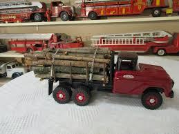 Tonka Vintage Pressed Steel Log Truck 2 Tonka Toys Tonka Truck Toy Trucks