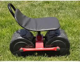 garden cart tool planting picking stool