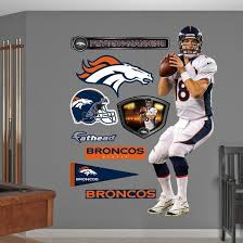 Peyton Manning Wall Decal Allposters Com