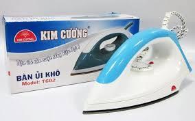 Bàn ủi khô Kim Cương T-602, bàn ủi điện, bàn là