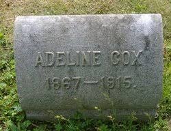 "Adeline ""Addie"" Cox (1867-1915) - Find A Grave Memorial"