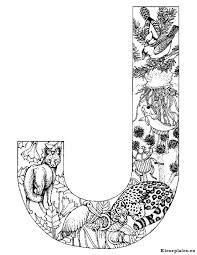 Alfabet Dieren Kleurplaat 16552 Kleurplaat