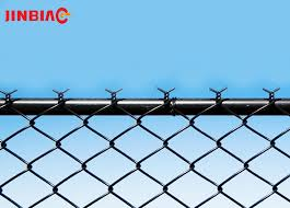 Hot Dipped Galvanized 5 Foot Plastic Coated Chain Link Fence