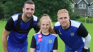 Birthday surprise for Abigail - News - Blackburn Rovers